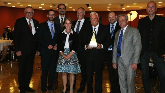 Dr. Hans-Peter Sieper mit BVMW-Mittelstandspreis ausgezeichnet