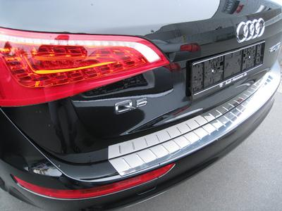 Audi Q5 stainless steel bumper protection from JMS