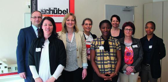 """Auftakt der Veranstaltungsreihe """"Frauen und Firmen in Kontakt"""" bei Schübel GmbH primeparts, Talheim"""