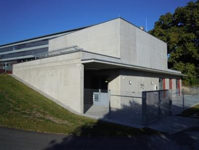 Battery testing facility at the Fraunhofer ICT