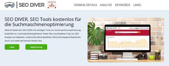 SEO DIVER Website in neuer Optik