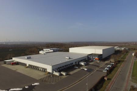 Neues Streiff & Helmold Logistikzentrum - Logistikzentrum nahe Helmstedt an der A2