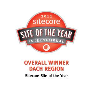 """Logo """"Site of the Year""""  (Copyright by MICROS-FIDELIO GmbH)"""
