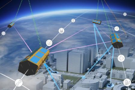 Satellitentechnik unterstützt autonome und elektrische Fahrzeuge - Foto: © Airbus