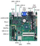 Axiomtek Rolls out Intel® Braswell SoC Fanless Mini-ITX Motherboard with Rich Graphics - MANO300