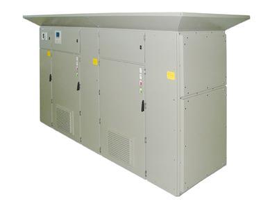 Das bis 40 kA störlichtbogengeprüfte POCOS Kompensationssystem in IAC-Ausführung trägt in Industrieanlagen nicht nur zur Senkung der Betriebs-, Wartungs- und Investitionskosten bei, sondern bietet auch ein Höchstmaß an Personensicherheit im Falle eines Störlichtbogens gemäß IEC 62271-200:2003-11. POCOS Anlagen in IAC-Ausführung können optional als Filterkreissysteme ausgeführt werden.