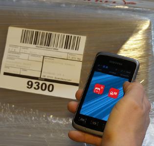 Die M3 App verfügt jetzt über weitere Funktionalitäten für die Hallen-Umschlagscannung. Bild: Dr. Malek