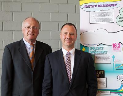 Dr. Reinhard Laumanns und Oliver Curdt