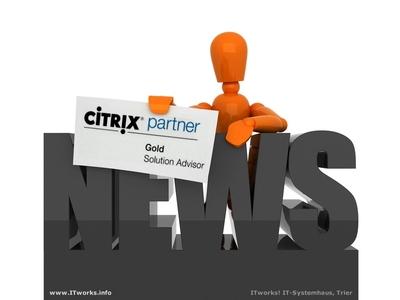 ITworks! ist Citrix Gold Solution Advisor