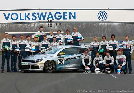 VW Scirocco-R-Cup 2012 ©Ferdi Kräling