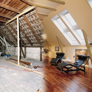 Mit dem Ausbau des Dachbodens erweitern Hausbesitzer vergleichsweise günstig und qualitativ hochwertig ihren Wohnraum. Foto: VELUX Deutschland GmbH