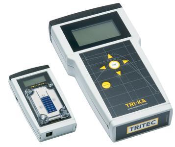 Characteristics analyser TRI-KA and sensor TRI-SEN