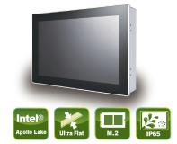 Small compact Panel PC with True-Flat PCAP Touch