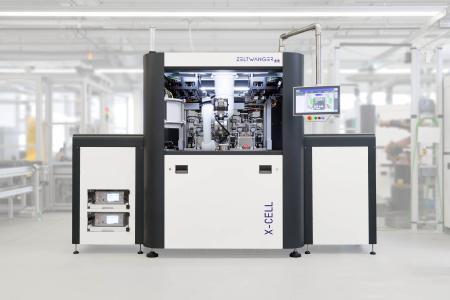 Die X-CELL der ZELTWANGER Automation GmbH für schnelle und zuverlässige Montage-, Bearbeitungs- und Kennzeichnungsaufgaben ist vorbereitet auf den Industrie 4.0 Einsatz