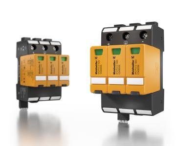 Weidmüller VARITECTOR PU PV: Komplettes Überspannungsschutz-Portfolio für DC- und AC-Schutzlösungen in Photovoltaikanlagen