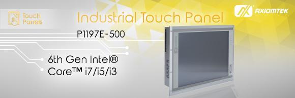 AXIOMTEKs Touch Panel PC für den Handel – P1197E-500