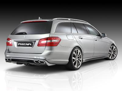 Sportive styling for E class W212 with amg bumpers from Piecha/jms