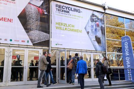 Mit 6254 Besuchern festigte das Messeduo SOLIDS und Recycling-Techik 2018 in Dortmund seine nationale und internationale Bedeutung