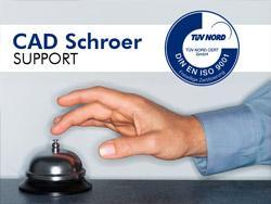 Der CAD Schroer Support erhält ausgezeichnete Kundenbewertungen