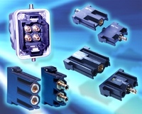 Pneumatic-Module for Hybrid Industrial Connectors