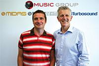New Marketing leaders: Graeme Taylor (right) and Paul O'Farrell-Stevens (left)