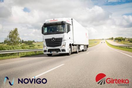 Girteka Logistics selects Novigo for the digital transformation of its transportation operations
