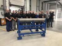 BITZER delivers first new condenser produced at extended factory in Germany
