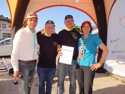 Sieger C2 - Werner Hillebrand-Hansen - Drik Asmus - Heiner Sietas - Marita Hansen