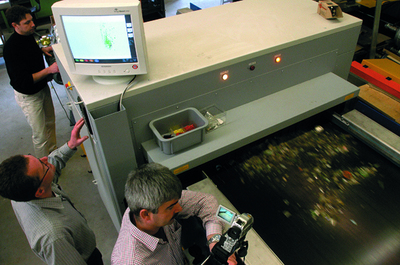 Bei Sesotecwerden neue Technologien entwickelt, um den Anforderungen und Aufgaben der Recyclingbranche gerecht zu werden. (Foto: Sesotec) -150dpi