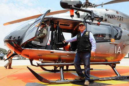 Airbus Helicopters delivers the fifth EC145 to Peru's National Police © Copyright Ministerio del Interior