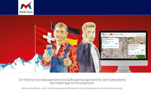 MobileTeam - die Mobile Business Solution für KMUs auf dem Telekom Business Marketplace