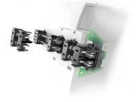 Die modulare Stromschienenlösung von Weidmüller ermöglicht eine einfache Geräteintegration und die ideale Auslegung von Baugröße- und technischen Daten für typische Mehrachsservoverstärker