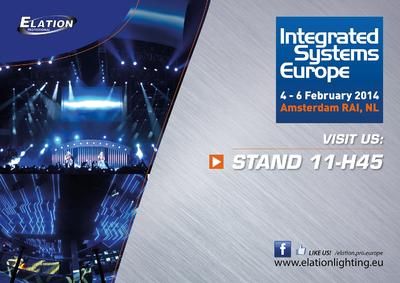 Elation Bringing the Latest in Versatile, Energy-efficient Lighting Solutions to ISE 2014