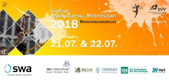 CADENAS sorgt für Abkühlung bei Bayerischer Beachvolleyball Meisterschaft in Augsburg