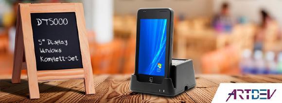 """Neues Gastronomie PDA mit 5"""" Display von ARTDEV"""