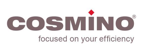 Logo, COSMINO AG
