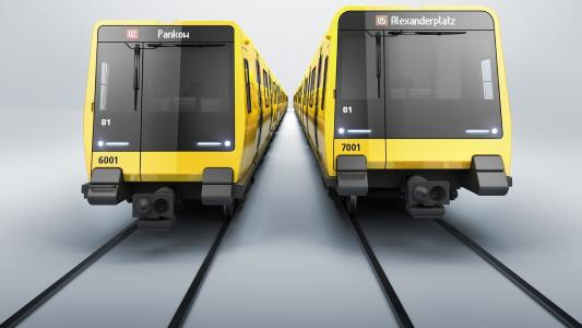 Knorr-Bremse sichert sich einen Großauftrag über die Ausstattung von bis zu 1.500 neuen U-Bahn-Wagen für die Berliner Verkehrsbetriebe (BVG) / © BVG