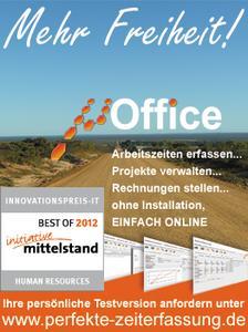 serv4ness stellt die 2. Generation von µOffice - Die Eine, perfekte online Zeiterfassung und Projektmanagement - vor
