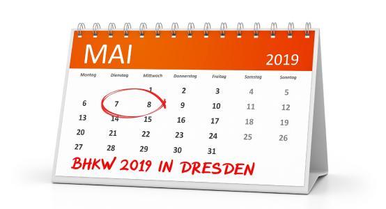 Am 07./08. Mai 2019 findet der BHKW-Branchentreff in Dresden statt.