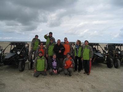 Die Teilnehmer der Sylt-Reise