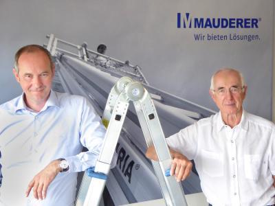 Portrait Frank und Werner Mauderer