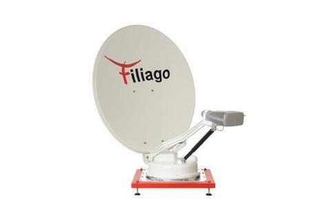 FILIAGO -  Wo wir sind ist Internet  - ASTRAConnect KA Satellitenantenne