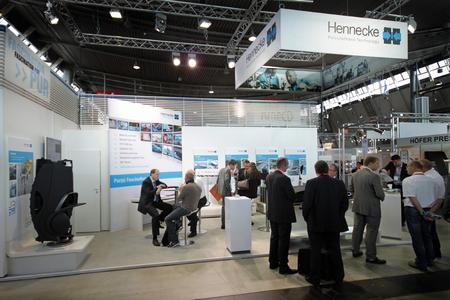 Tailor-made lightweight solutions appealed strongly to visitors at Hennecke's CE 2011 expo stand