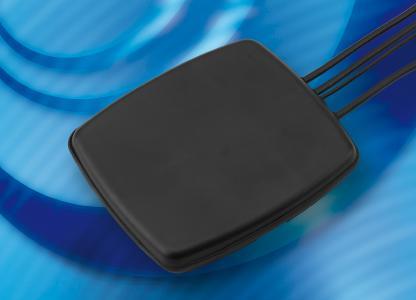 Neu im Sortiment von PCTEL ist eine superflache Multibandantenne für LTE / WLAN / GNSS