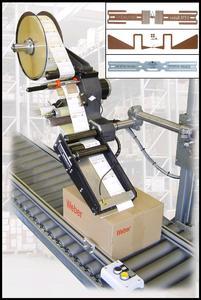 Etikettenspender ALPHA RFID. Preisgekrönt im 2006 mit dem Innovationspreis vom  Bereich Logistik von der Initiative Mittelstand