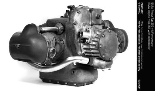 BMW engine type 255 with compressor (03/2009)