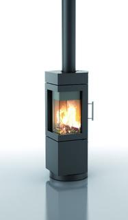 flammenspiel in raffiniertem design hase kaminofenbau. Black Bedroom Furniture Sets. Home Design Ideas