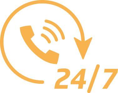 Unsere 24/7 Hotline: Heißer Draht statt lange Leitung! Seit unserer Gründung im Jahr 2014 ist uns eines besonders wichtig: Der Service
