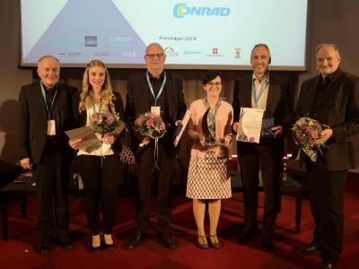 Die Preisträger des DiALOG-Award 2019 - CONRAD ELECTRONIC SE ist der Gewinner