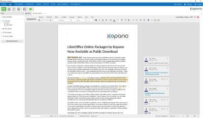 LibreOffice Online Packages by Kopano Now Available as Public Download